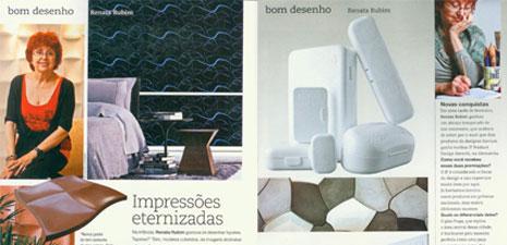 Revista Casa Claudia | Impressões eternizadas