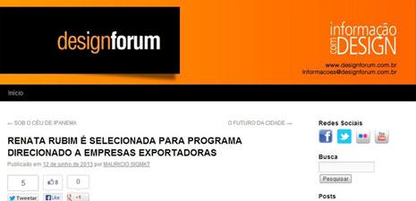 Design Forum | Design Export