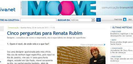 Coletiva.net | Cinco perguntas para Renata Rubim