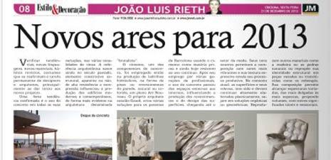 Jornal da Manhã | Novos ares para 2013
