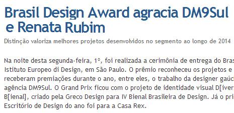 Coletiva | Brasil Design Award