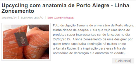 Elenara Leitão | Linha Zoneamento