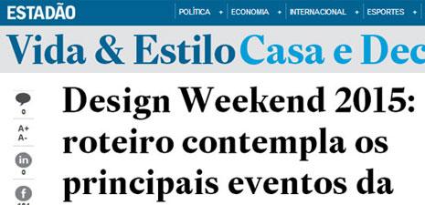 Estadão | Design Weekend