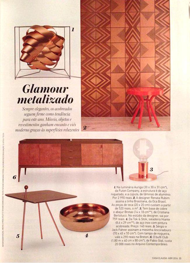 Casa Cláudia | Coleção Brasiliana