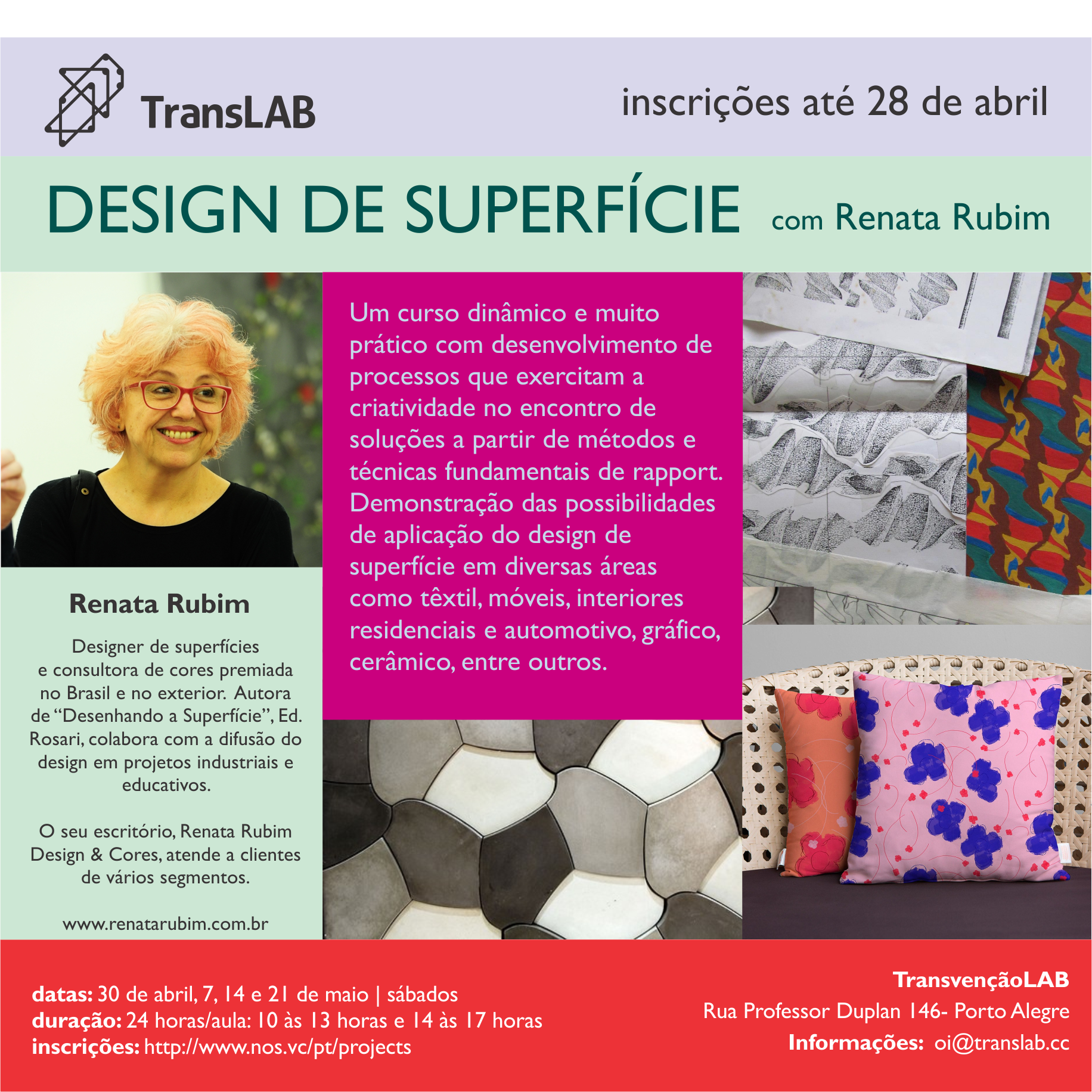 Workshop Design de Superfície | TransLAB