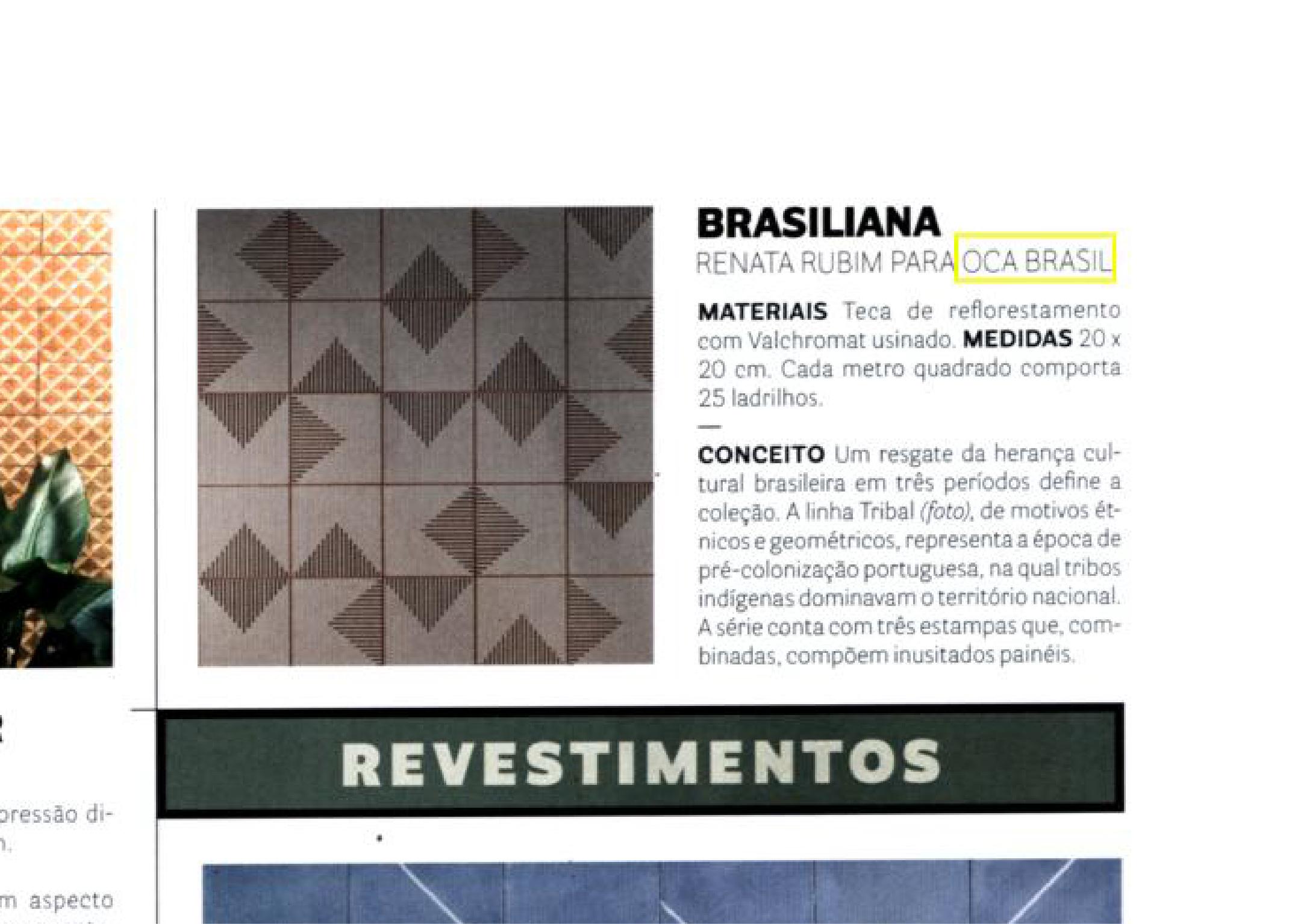 Revista Casa Vogue | Coleção Brasiliana