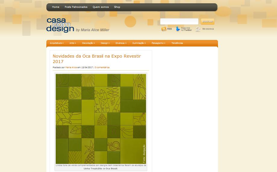 Blog Casa com Design | Coleção Tropicalia