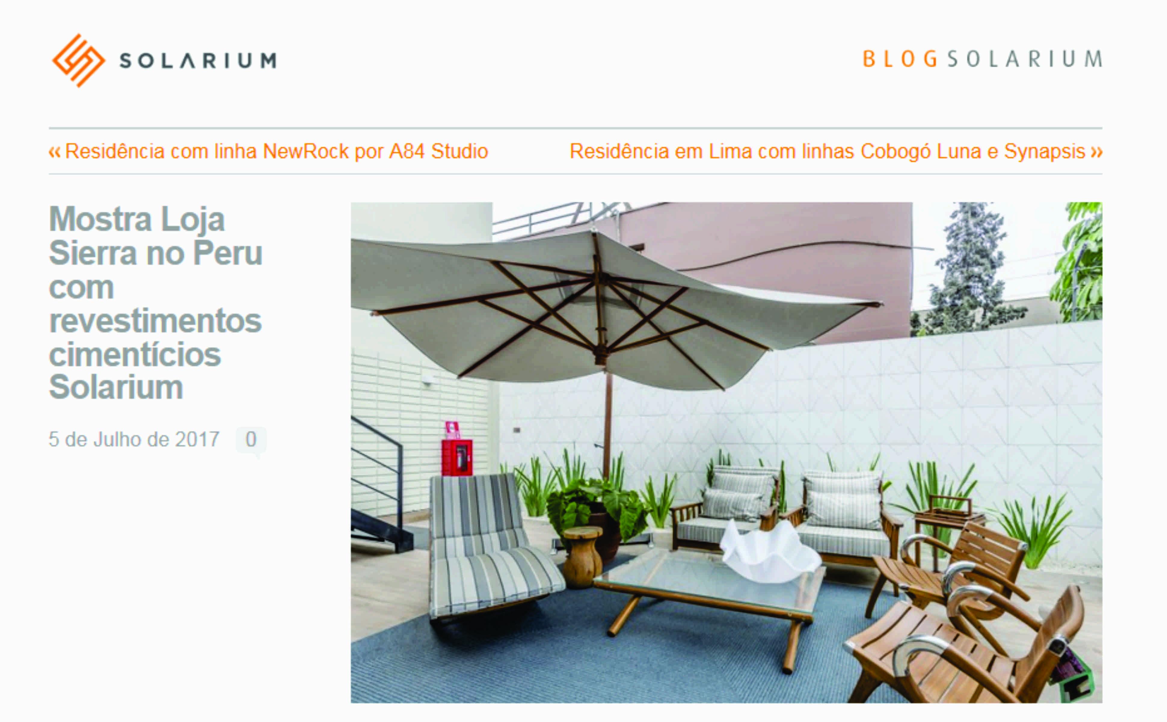 Blog Solarium | Renata Rubim