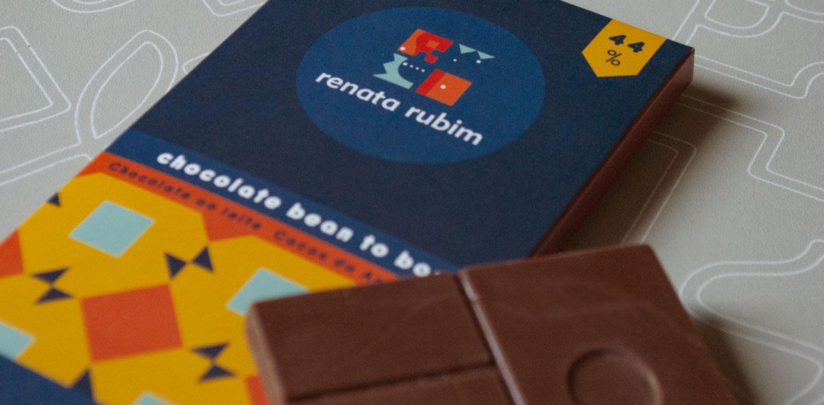 Chocolates Renata Rubim para Andrei Martinez Chocolatier