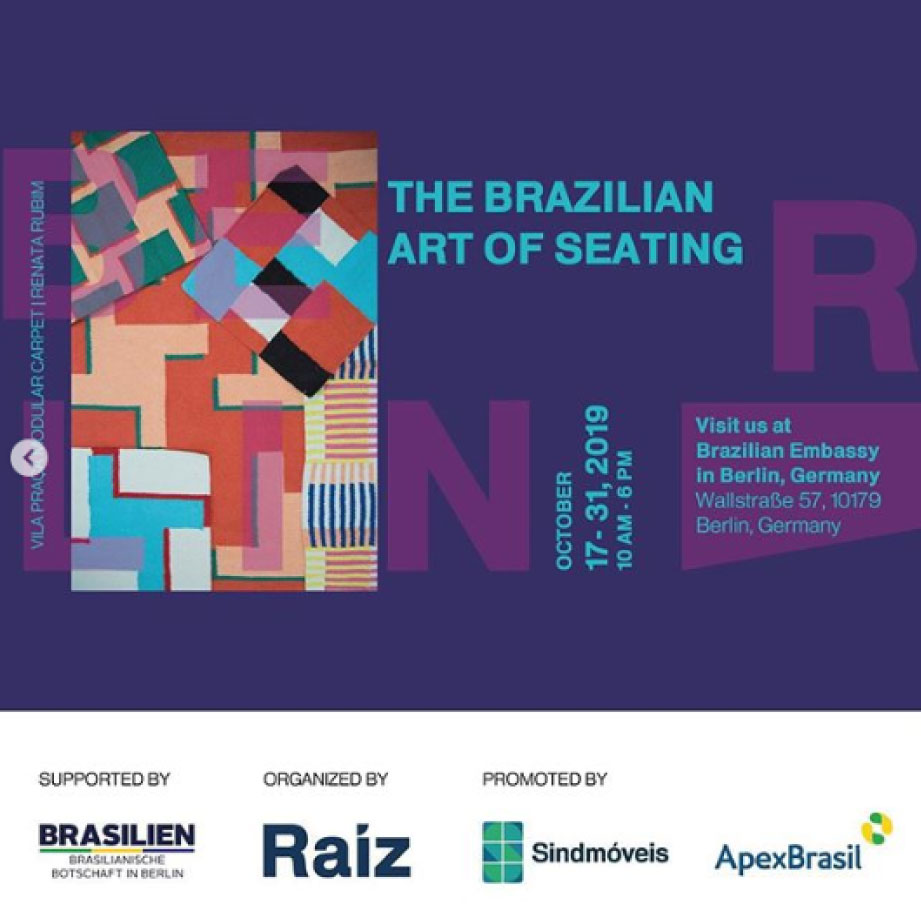 The Brazilian Art of Seating - Berlin Design Week 2019
